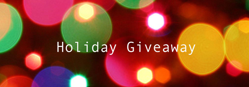 holidaybannercrop. It s time for our annual Holiday Giveaway! We ll be  giving away fun prize packages for the next 5 days. 0f3c1554e00e