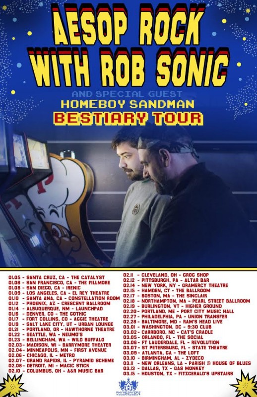 bestiarytour